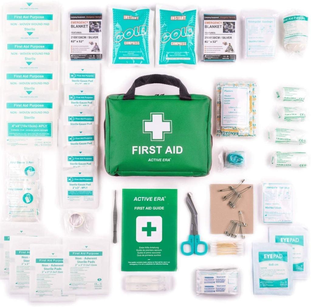 Botiquín de Primeros Auxilios Premium de 220 piezas de The Body Source