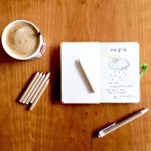 elke dag boekje: elke dag even schrijven! Superleuk naslagwerk