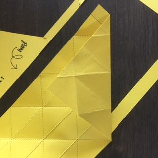 stap 4 vlakkenvaasje diagonalen maken facetten