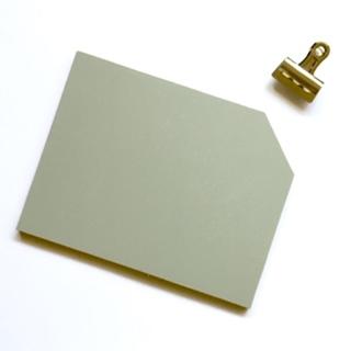 uniek woonaccessoires dit klembord met een buldogclip