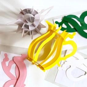 Je vindt de papieren kan in vijf leuke kleuren in de shop