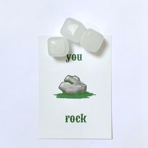 you rock papa! Kleinigheidje voor vaderdag met herbruikbare ijsklontjes