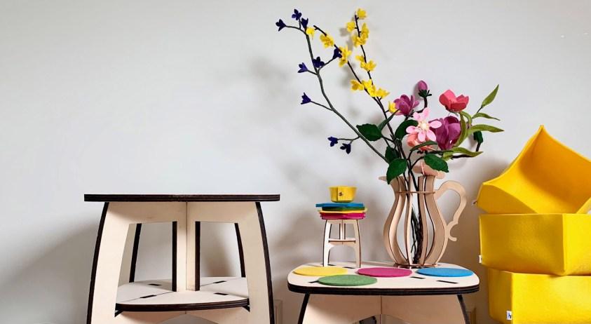 woonaccessoires van houtmoed brengen de lente in huis