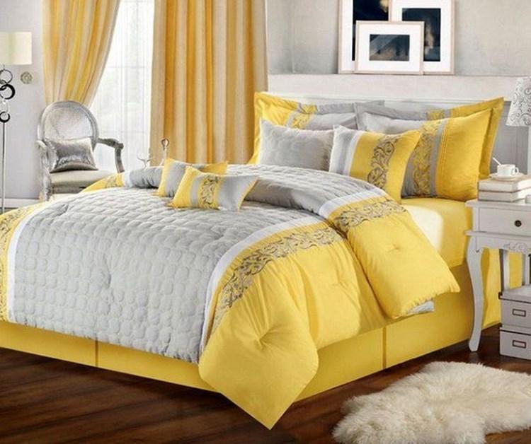 35 Amazing Yellow Bedroom Ideas