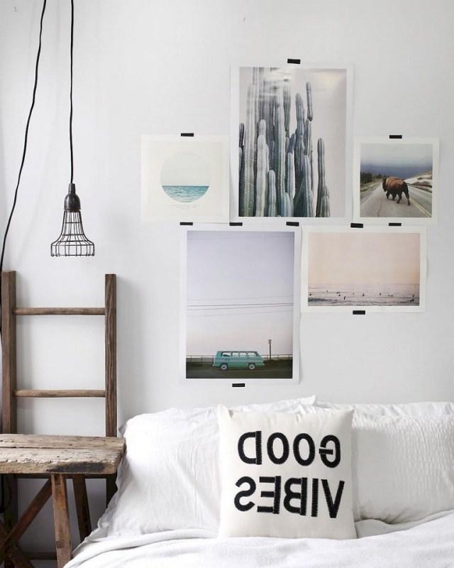 56 Lovely Gallery Wall Bedroom Ideas 1