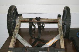 Tree Lounge close up of wheel kit