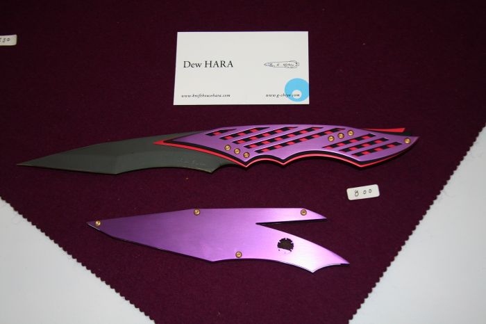 """My best of show in the """"art knife"""" design category."""
