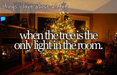 One of my favorite things about Christmas! :)