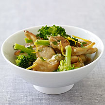 Lemon Chicken & Broccoli