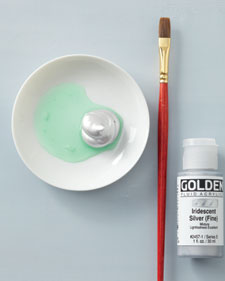 """""""Scratch-off""""paint (like on lottery tickets) – one part dish soap, two"""