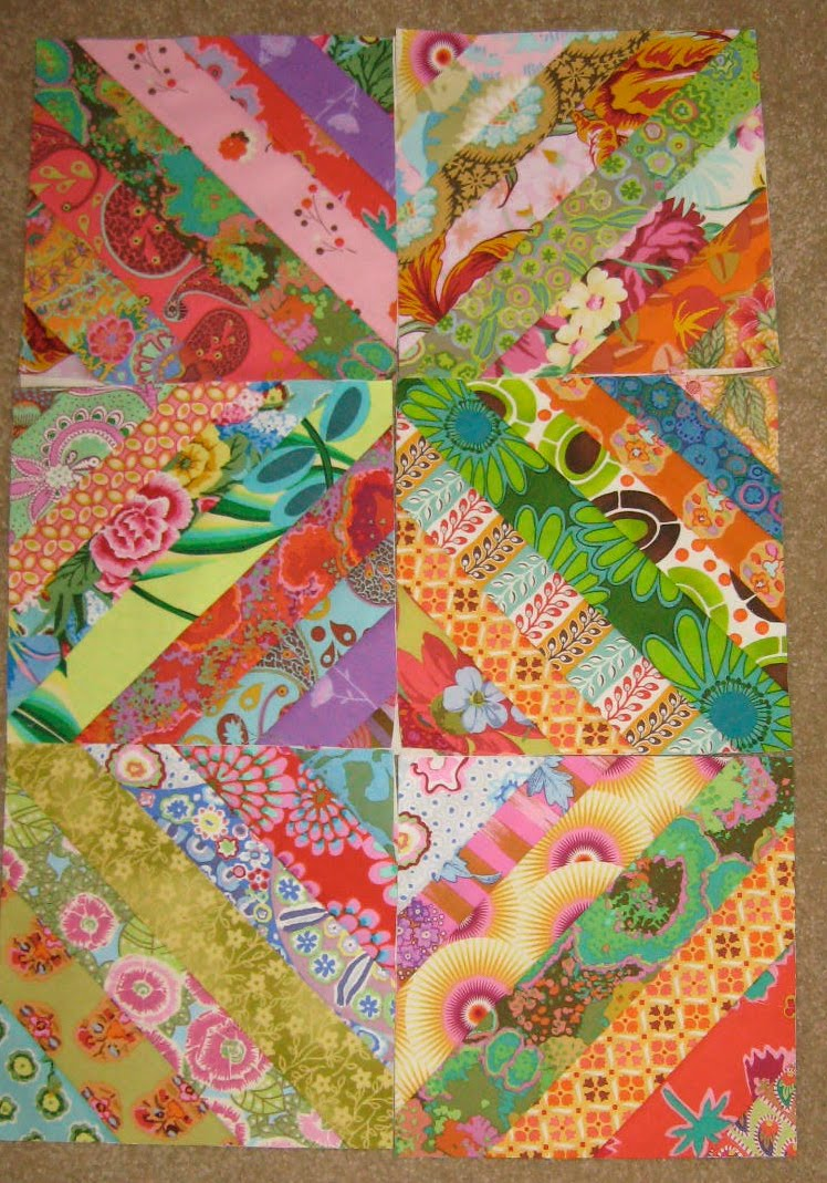 String Quilt Blocks Tutorial