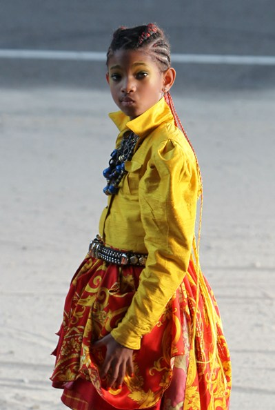 Willow Smith films new video