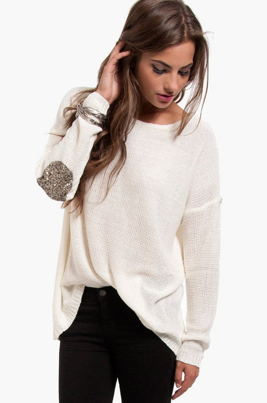 Glam Patch Sweater