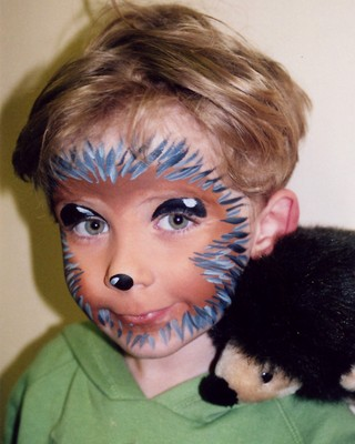 hedgehog face painting