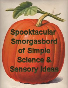 Simple Science and Sensory ideas for Halloween