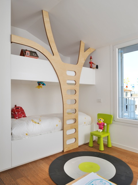 tree ladder for bunk beds