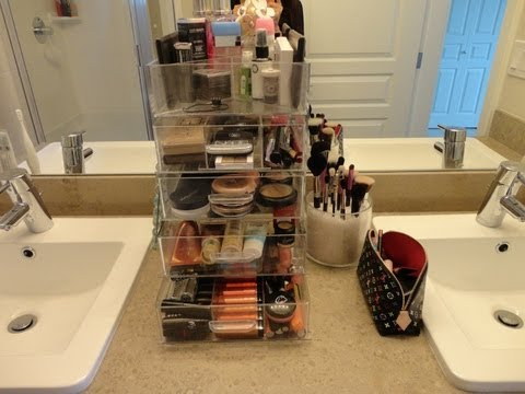 Updated Makeup Storage