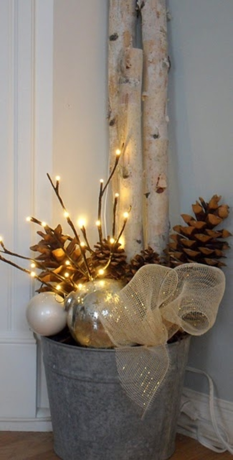 rustic christmas decorations modernmagazin