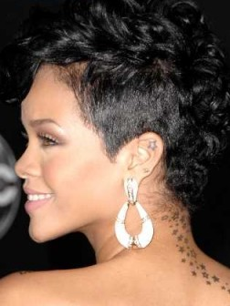 Short hairstyles for black women 2012