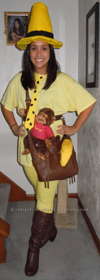 Fantastic Homemade Costume: The Man in the Yellow Hat… This website is the Pin