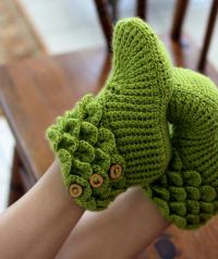 Crocodile Stitch Slippers
