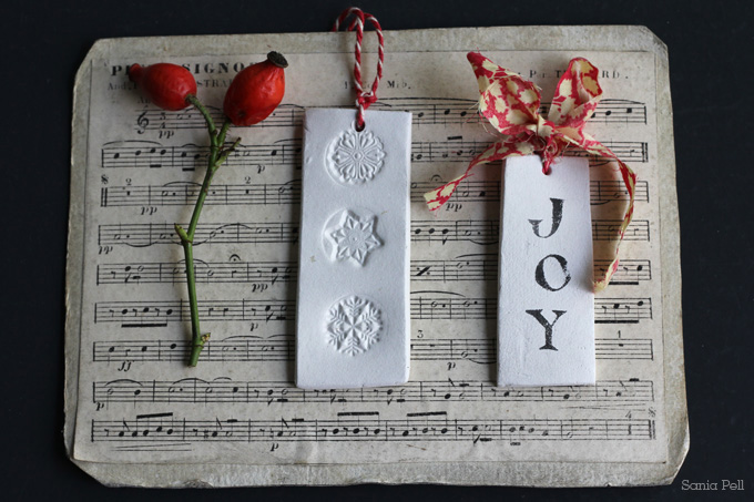 Clay Christmas Decorations ~ So pretty and easy to make!
