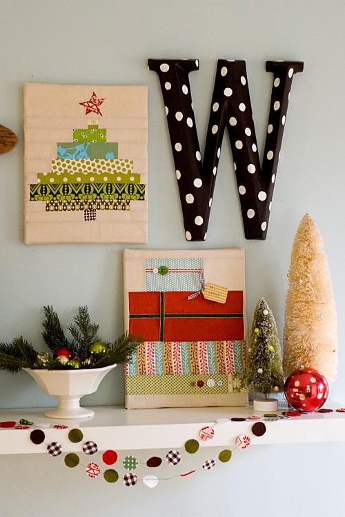 Christmas decor. #houzz