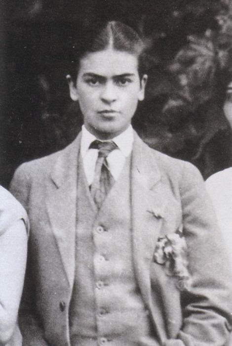Frida Kahlo #menswear