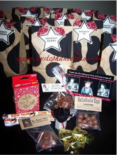 Cowboy Birthday Party Favors – Under the Table and Dreaming