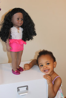 Crafting for Bliss: DIY American Girl Doll Outfit (Peplum skirt)
