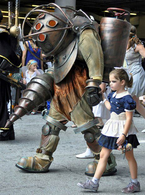 Best father/daughter cosplay ever