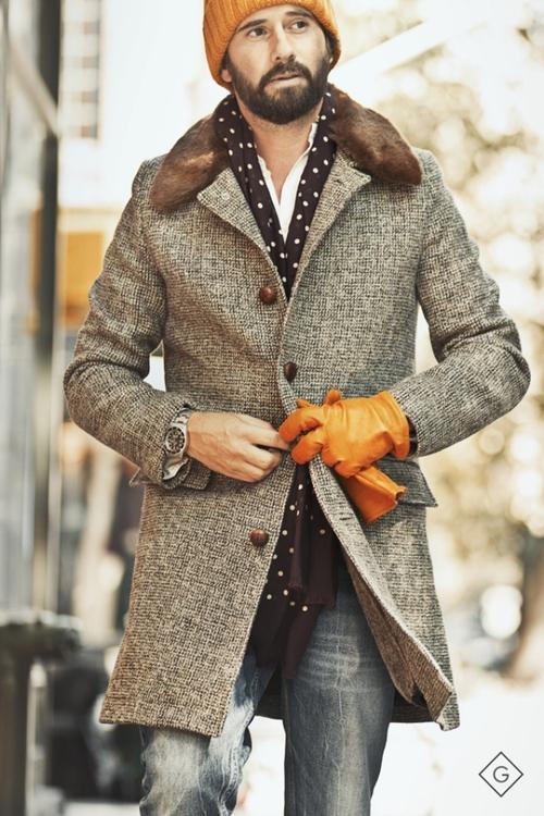 Gant, awesome jacket detail.