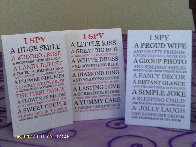 I SPY Camera Game by Greeneyedgirlpc on Etsy