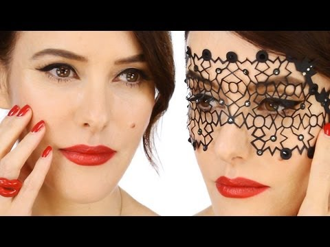 New Glamorous, Vintage Inspired Party Make-up Video