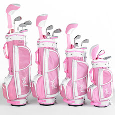 It is never to early for a little girl to learn to play golf : Girls Golf Set