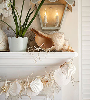 love this shell garland