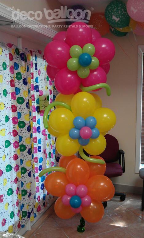 Balloon Centerpieces Gallery