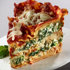 Slow Cooker Spinach Lasagna |