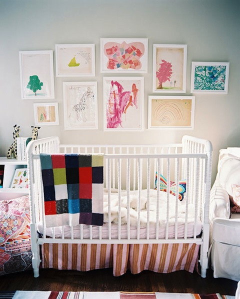 Display your Child's Artwork! Check out these 21 ideas for displaying, stori