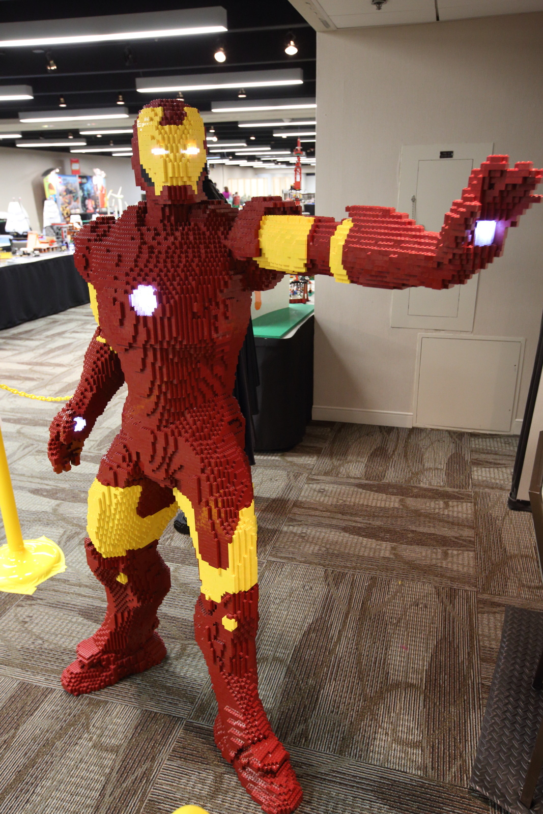Iron Man LEGO Build Is An Epic Life-Size Brick Marvel