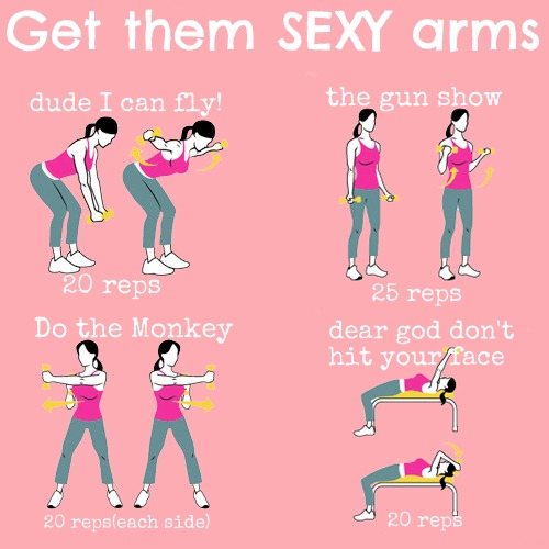 Arm work outs