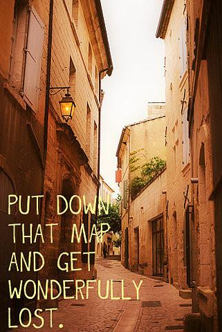 Who needs maps?!