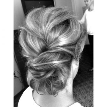 The bun hairstyles