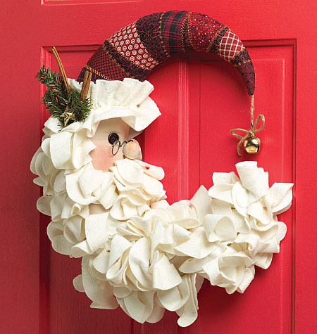 DIY – Santa wreath