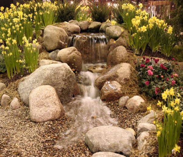 Mini Pond Waterfall