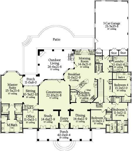 Dream Homes Floor Plans