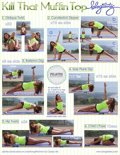 Love Handles workouts.