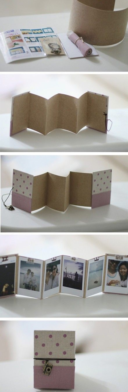 DIY Mini Photo Album