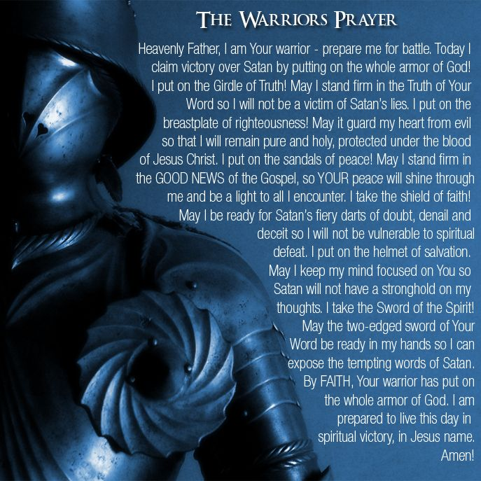 The Warriors Prayer