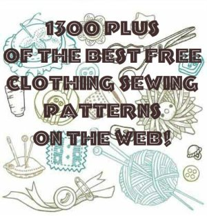 Over 1300 of the best free clothing sewing patterns on the web!